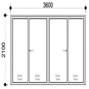 Sigmadoors Sliding Aluminium Doors Sliding doors Patio doors