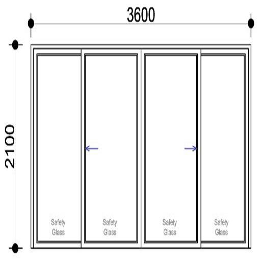 Sigmadoors.Aluminium Windows-Casement windows_SD3621-XX