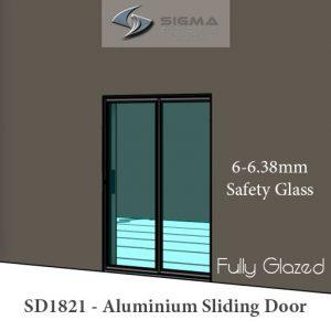 Aluminium sliding door repairs glass replacement 6.38 safety glass Sigmadoors
