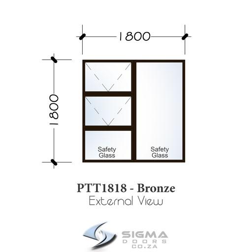 Standard aluminium window prices builders warehouse size 1800 x 1800mm Sigmadoors Sigmadoors
