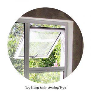 Awning Style Window top hung Aluminium windows Sigmadoors