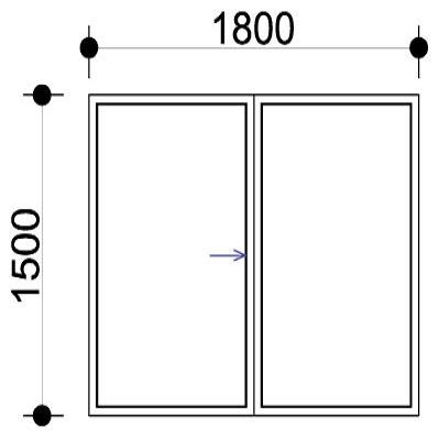 Sigmadoors.Aluminium Windows-Casement windows_HS1815