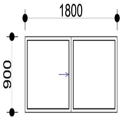 Sigmadoors.Aluminium Windows-Casement windows_HS189