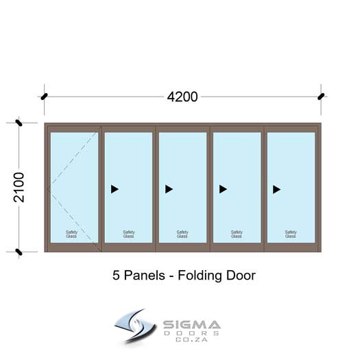 Aluminium-doors-SFD4221_5-Panel-Aluminium-Vistafold-Folding-Door-Sigmadoors