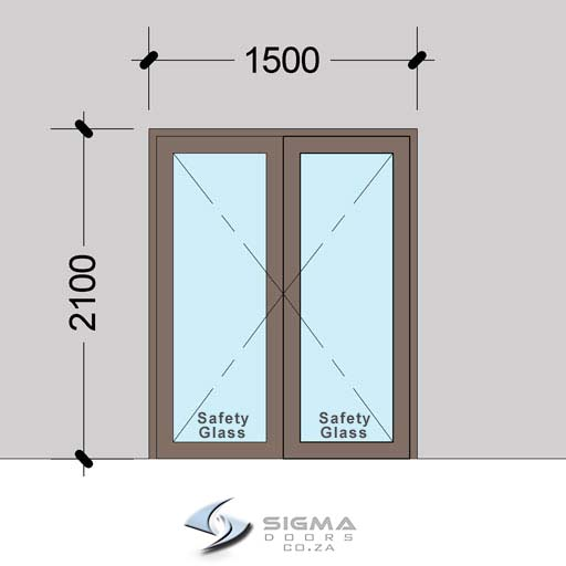 DHD1521–Aluminium-Double-Hinged-Door-Sigmadoors