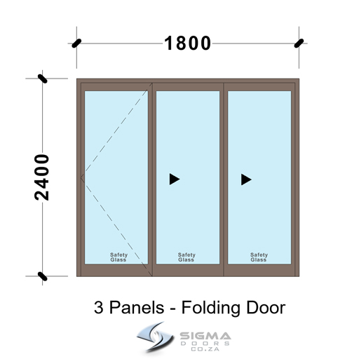 SFD1824_3-Panel-Aluminium-Vistafold-Folding-Door 1800-x-2400mm-patio-doors-sigmadoors-glassdoors