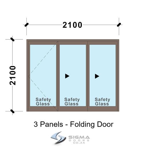 SFD2121_3-Panel-Aluminium-Vistafold-Folding-Door-glassdoors-patio-door-sigmadoors