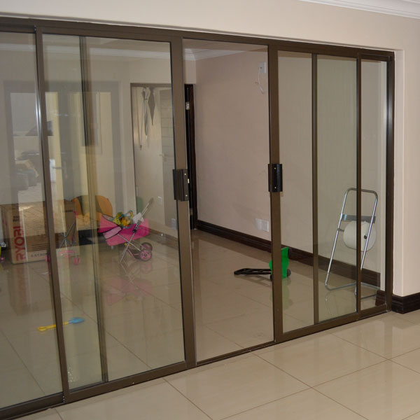 Aluminium sliding doors, patio doors, door frames, sliding door installation, Sigmadoors, Johannesburg, South Africa