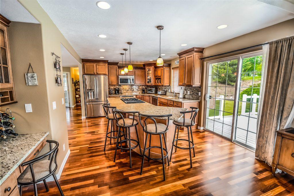 New open plan kitchen renovation Sigmadoors