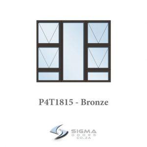 P4T1815 aluminium window frame for sale Sigmadoors
