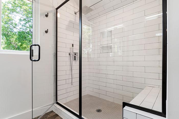 Aluminium shower enclosure Sigmadoors South Africa
