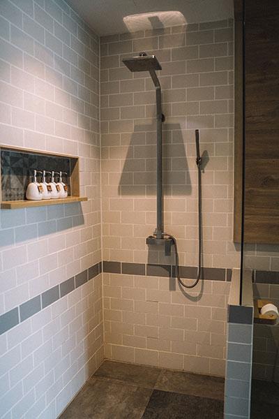Open shower Sigmadoors