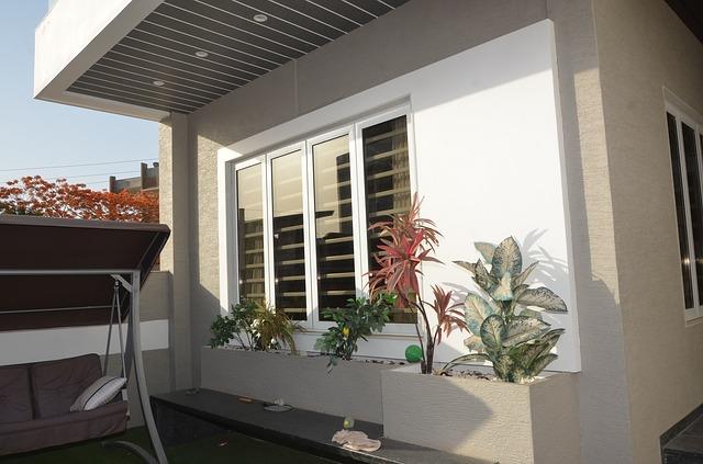 Aluminium window exterior burglar bars Sigmadoors