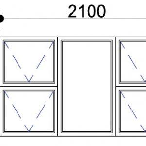 Aluminium windows, Aluminium window P4T2112   Aluminium windows with prices   Aluminium Top Hung Window